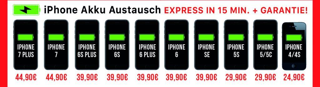 kosten akku iphone 5